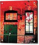 Chicago Brick Facade 21st. Century Acrylic Print