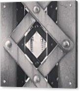 Chicago Bridge Iron Close-Up Picture Acrylic Print