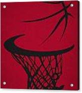 Chicago Bulls Hoop Acrylic Print