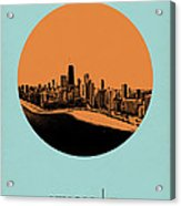 Chicago Circle Poster 2 Acrylic Print