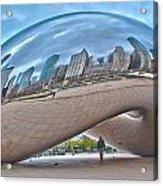 Chicago Cloud Gate Acrylic Print