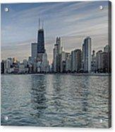Chicago Coast Acrylic Print by Donald Schwartz