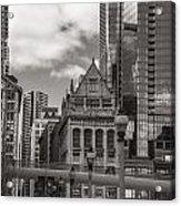Chicago Crosswalk  Acrylic Print