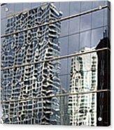 Chicago Facade Reflections Acrylic Print