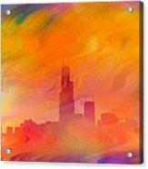 Chicago Fire Acrylic Print