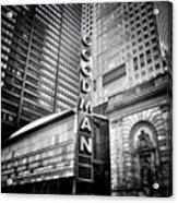 Chicago Goodman Theatre Sign Photo Acrylic Print