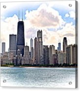 Chicago In The Spotlight Acrylic Print