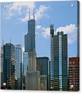 Chicago - It's Your Kind Of Town Acrylic Print by Christine Till