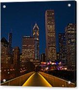 Chicago Lights Acrylic Print