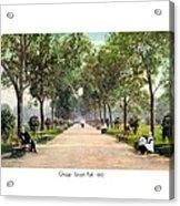 Chicago - Lincoln Park - 1910 Acrylic Print