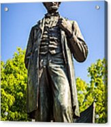 Chicago Lincoln Standing Statue Named The Man Acrylic Print