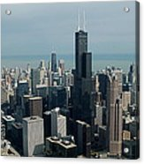 Chicago Looking East 04 Acrylic Print