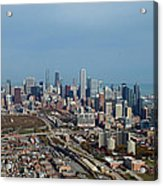 Chicago Looking North 01 Acrylic Print