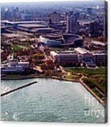 Chicago Museum Park Acrylic Print