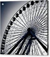 Chicago Navy Pier Ferris Wheel Acrylic Print