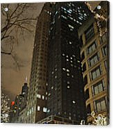 Chicago Night Life  Acrylic Print