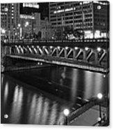 Chicago Nights Acrylic Print