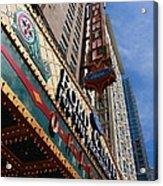 Chicago - Oriental Theatre Acrylic Print