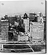 Chicago Panorama 1915 Acrylic Print
