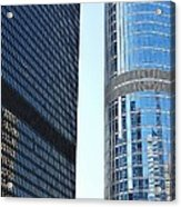 Chicago Photography - Urban Abstract Acrylic Print