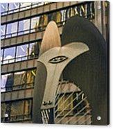 Chicago Picasso Acrylic Print