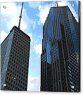 Chicago - Prudential Building Acrylic Print