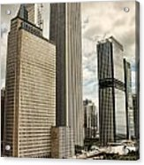 Chicago Prudential Towers Acrylic Print