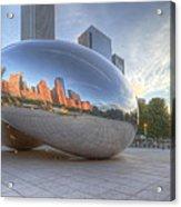 Chicago Reflection Acrylic Print