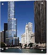Chicago River Scenic Acrylic Print