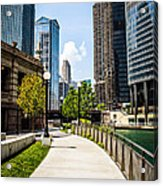 Chicago Riverwalk Picture Acrylic Print