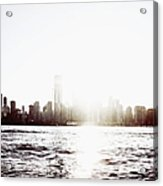 Chicago Skyline II Acrylic Print