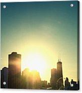 Chicago Skyline IIi Acrylic Print