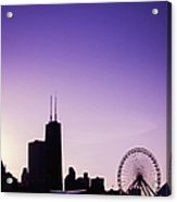 Chicago Skyline Iv Acrylic Print