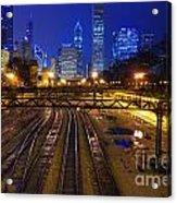 Chicago Skyline Acrylic Print