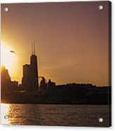 Chicago Skyline V Acrylic Print