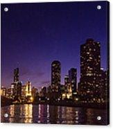 Chicago Skyline Vi Acrylic Print
