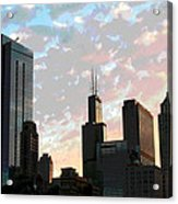 Chicago - South Loop Acrylic Print