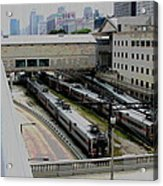 Chicago - South Shore Train Yard Acrylic Print