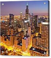 Chicago Southwest 2 Acrylic Print