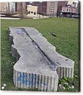 Chicago Stonehedge Acrylic Print