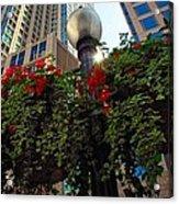 Chicago Street Light Acrylic Print