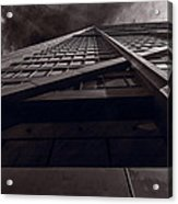 Chicago Structure Bw Acrylic Print