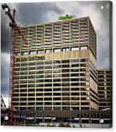Chicago Sun Times Facade After The Storm Acrylic Print