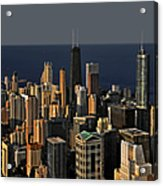 Chicago - That Famous Skyline Acrylic Print by Christine Till