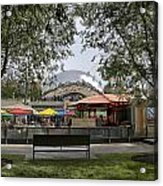 Chicago The Bean Lower Westside Acrylic Print