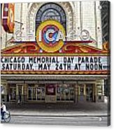 Chicago Theater Signage Acrylic Print