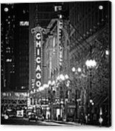 Chicago Theatre - Grandeur And Elegance Acrylic Print