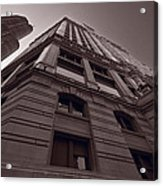 Chicago Towers Bw Acrylic Print