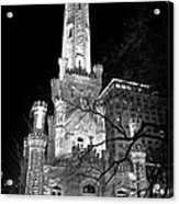 Chicago Water Tower Acrylic Print