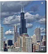 Chicago Willis Sears Tower Acrylic Print